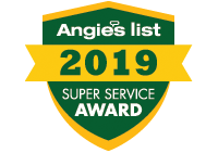 Angie's List Super Service Award Winner 2019