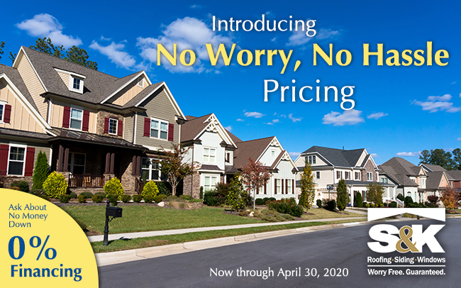 No Worry No Hassle Pricing