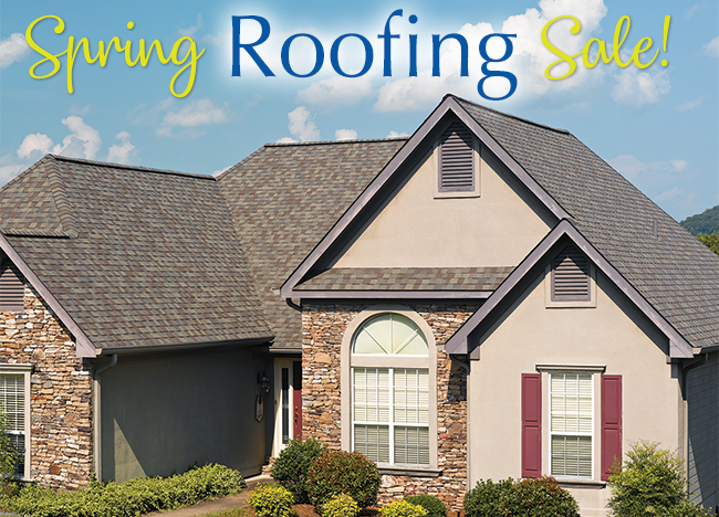 May Roofing Sale